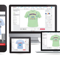 Mobile Friendly Responsive Product Designer Software