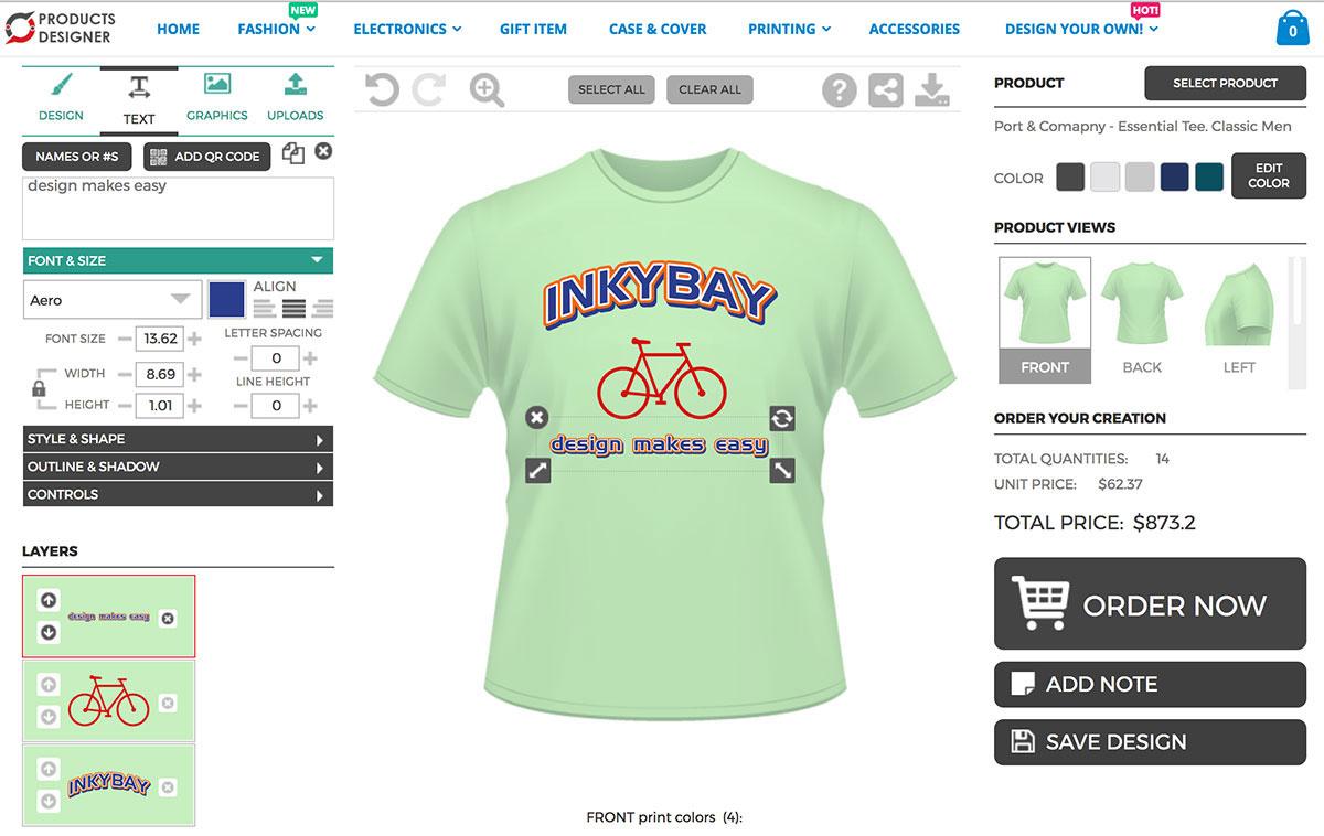 InkImprintscom  Custom TShirts  Design   Free Shipping