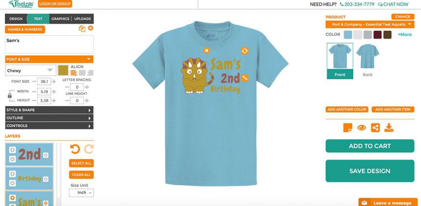 Magento T Shirt Design Plugin