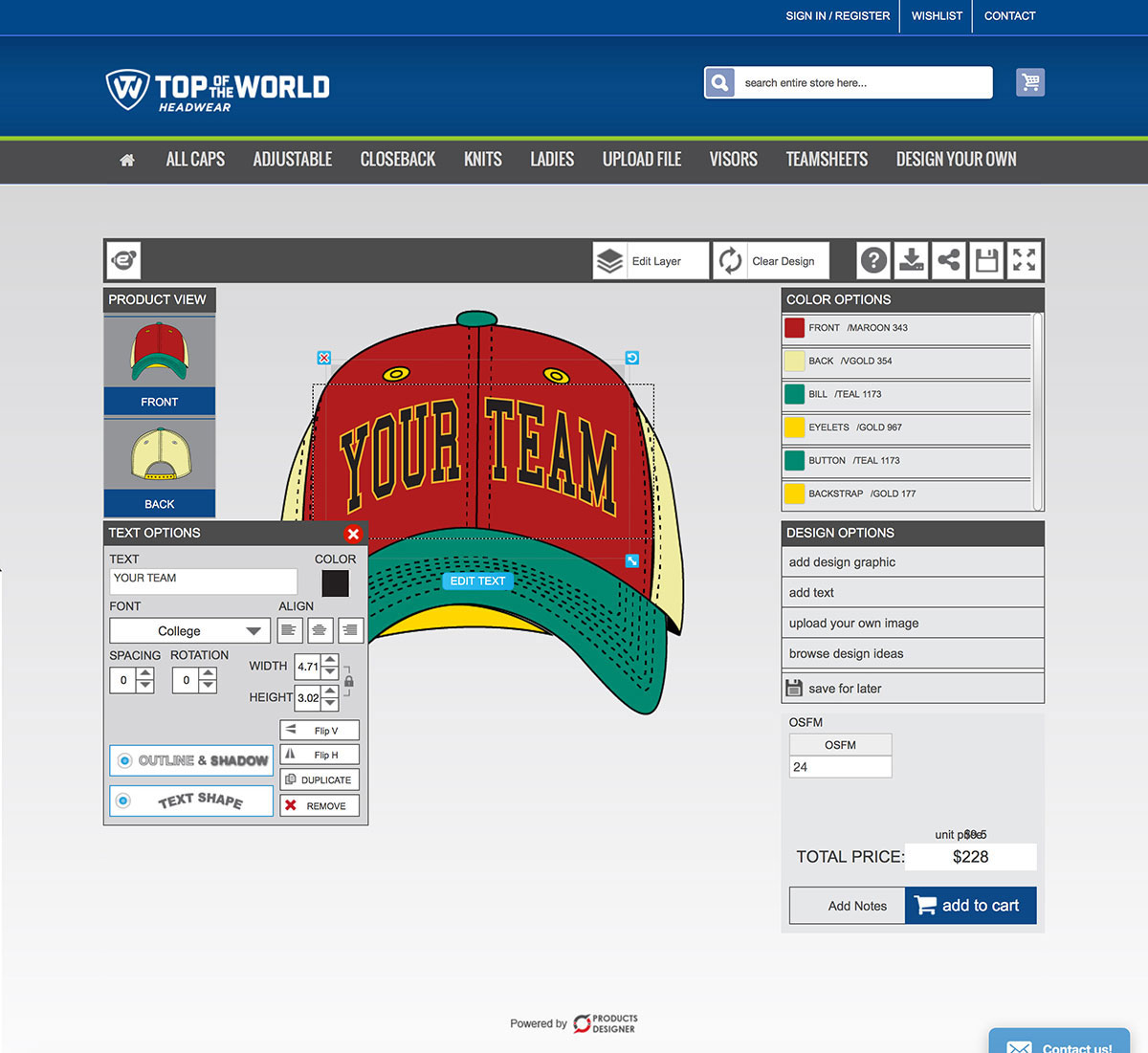 Product Customization Software For Print Shop