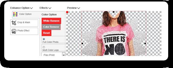 HTML5 product configurator Upload Edit Photos