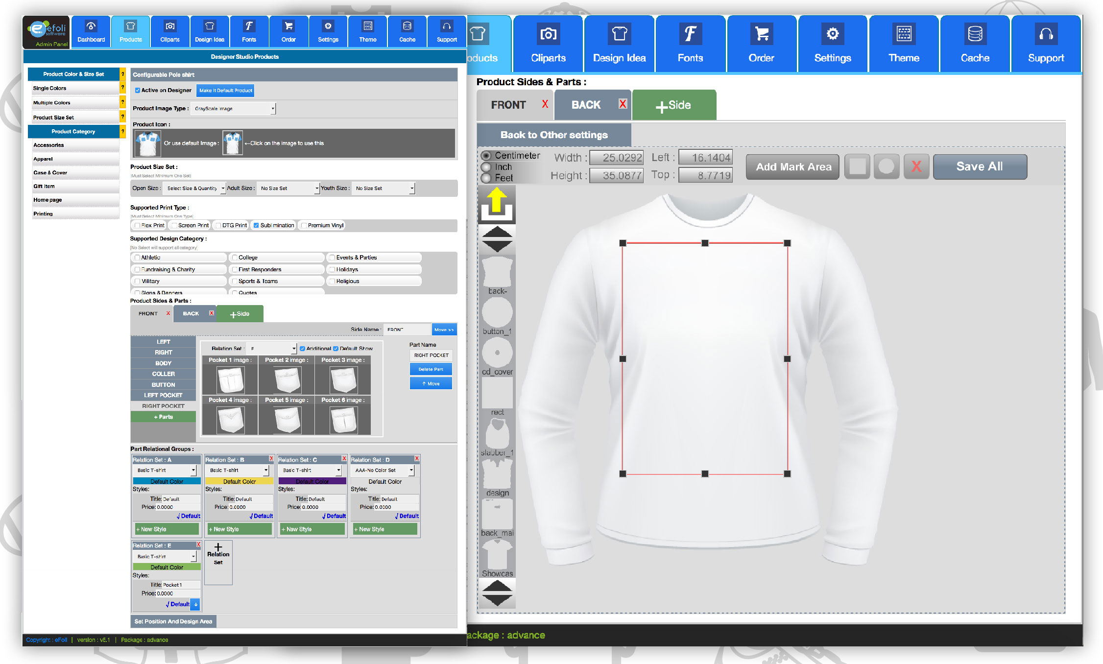 T Shirt Design Tool For Ecommerce Product Design Software