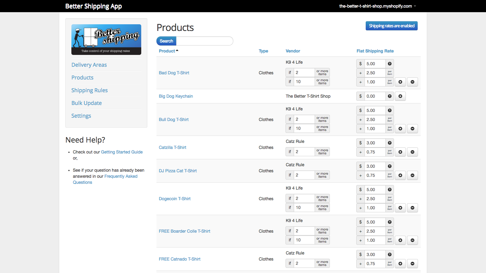 Better Shipping Best Shopify Apps Print Ecommerce