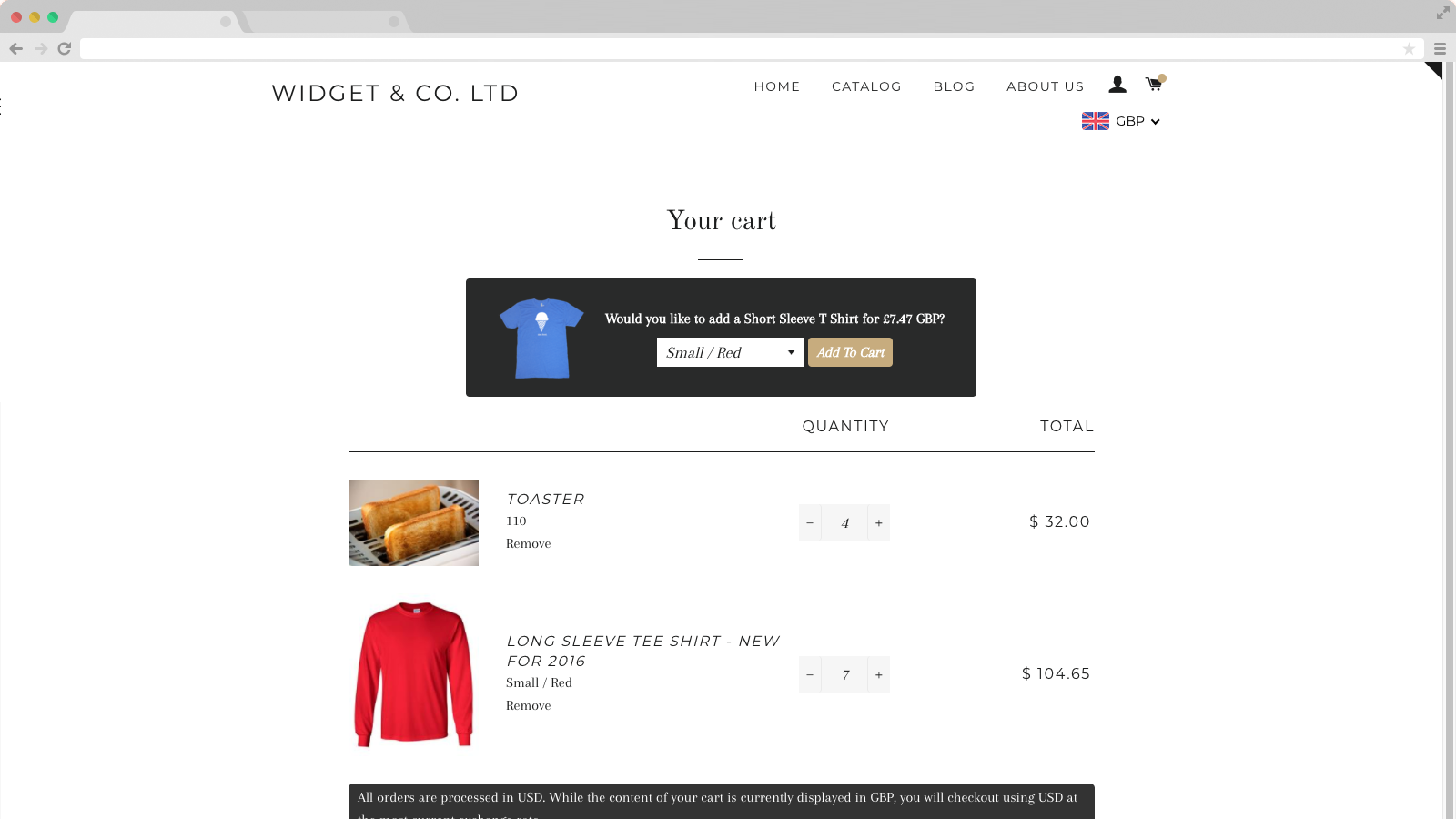 In Cart Upsell Best Shopify Apps Print Ecommerce