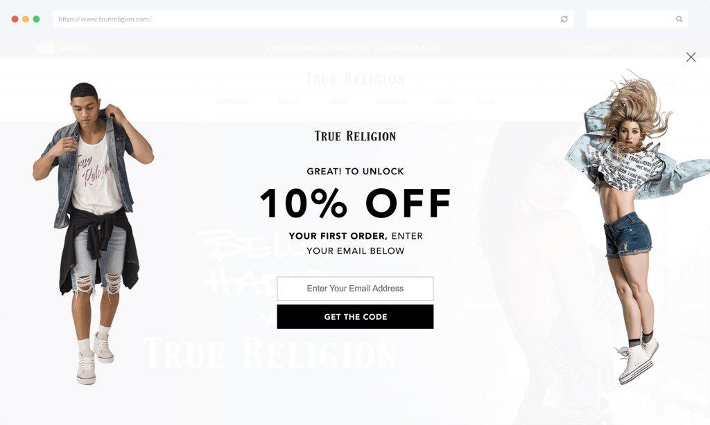 Behavior-Based E-commerce Segmentation TrueReligion Example